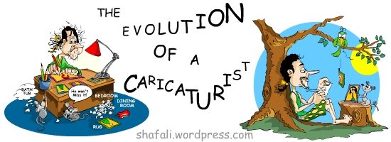 The Evolution of a Caricaturist - A Book on How to Draw Caricatures