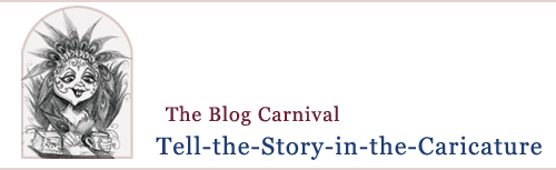 Blog carnival story telling story writing story in the caricature
