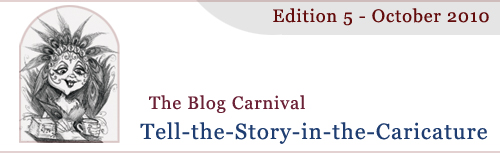 header image for Story in the Caricature Blog Carnival for October 2010