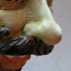 A man with mustaches and beard - A Caricature in Polymer Clay.