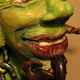 A Clay Caricature of the Devil - A Caricature Sculpture in Polymer Clay.