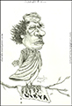 icon-caricature-cartoon-sketch-portrait-drawing-muammar-moammar-gaddafi-gadhafi-kadafi-dictator-libya