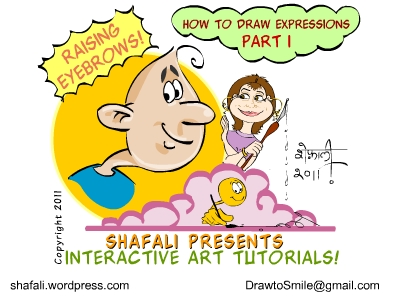 An Icon for How to draw expressions - Part I, an Interactive Art Tutorial by Shafali