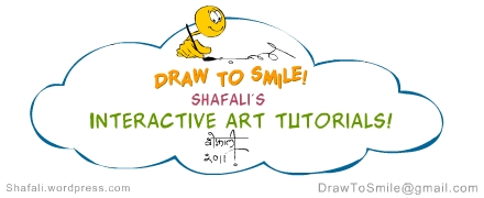 Interactive Art Tutorials - Cartoons and Caricatures - By Shafali