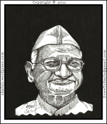 Anna Hazare - Civil Society of India.