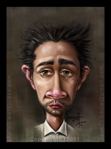 caricature-cartoon-painting-portrait-of-hollywood-actor-shia-labouef-transformer-disturbia-colored