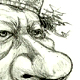 The dictator who refuses to step down as the Head of Libya - A Caricature of Muammar Gaddafi