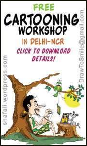 A Free Illustration and Cartooning workshop in Delhi-NCR by Shafali.