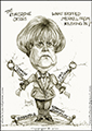 icon-caricature-cartoon-sketch-drawing-portrait-angela-merkel-german-chancellor-and-the-eurozone-crisis