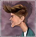 icon-caricature-cartoon-color-drawing-portrait-singer-justin-bieber-and-his-hair