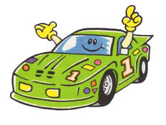 Cartoon of a Car
