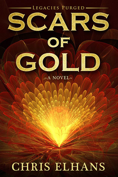 Novel Cover for Scars of Gold by Chris Elhans - Kindle eBook Cover Artists