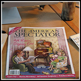 Caricature – American family of the 50s. Magazine Cover Art. Illustrated for the American Spectator Magazine