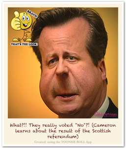 Caricature David Cameron - Caricature Created using Toonsie Roll App - A Free Caricatures/Cartoons maker iOS App for iPhone and iPad