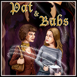 Icon - Novel Cover Art Work for Pat and Babs - a Body Switch Novella by Author B.G. Hope.