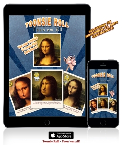 Toonsie Roll - A Free Caricature Maker App for iPhone and iPad that lets you create expressive caricatures by observing and tapping.