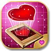 Bigsaw Love - A Picture Puzzle Game for iPad on Valentine Day theme. (Game Graphics, Interface Design, and Animations)