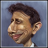 Caricature of US Presidential Election candidate and Louisiana Governor Bobby Jindal.