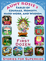 Children's Book - Aunt Rosie's fables - the first dozen - Cover and Inner Illustrations
