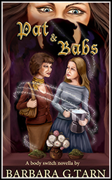 Book Cover Art -Pats and Babs -Body Switches Novel Series by B G Hope aka Barbara G. Tarn