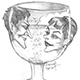 Man, Woman, and Wineglass