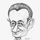 Caricature of Carla Bruni's Husband and the French President Nicolas Sarkozy.