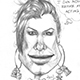 Caricature of Sandra Bullock after her Oscar and the Razzies.