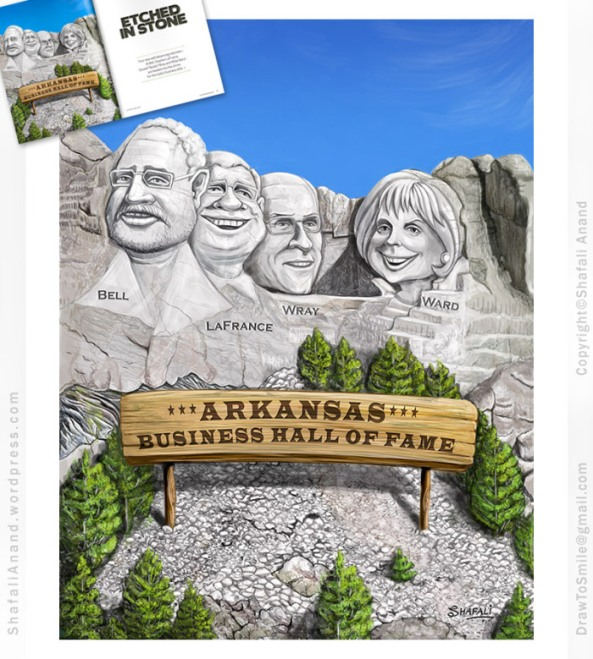 Mount Rushmore in Popular culture - Arkansas Business Hall of Fame - for TBP Magazine.