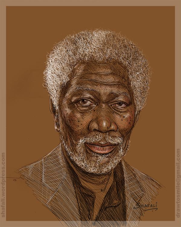 Portrait Morgan Freeman Hollywood actor accused #metoo