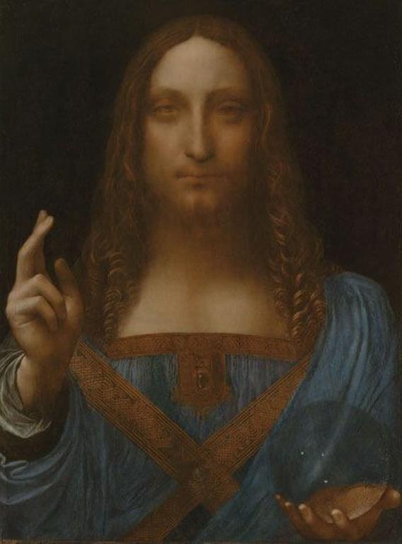 Salvator Mundi - not-by-Leonardo-da-Vinci-Restored.