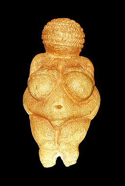 Venus of Willendorf - Paleolithic Art - Figurine of Limestone